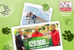 Akcja charytatywna Maxi Zoo na rzecz psów ratowniczych GOPR bije kolejny rekord!