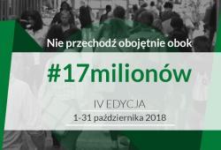 Centrum Handlowe ECHO wspiera Ogólnopolską Kampanię #17milionów