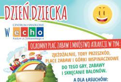 Dzień dziecka w CH ECHO!